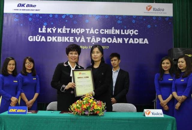 DKBIke được chỉ định là Nhà phân phối độc quyền các sản phẩm của YADEA tại thị trường Việt Nam.