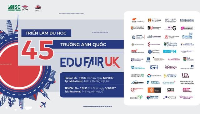 Những suất học bổng chỉ có tại Triển lãm Du học 45 trường Anh Quốc - 1