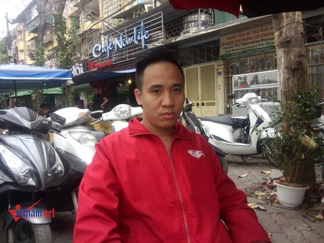 Tài xế Nguyễn Văn Bộ. Ảnh: Diệu Bình