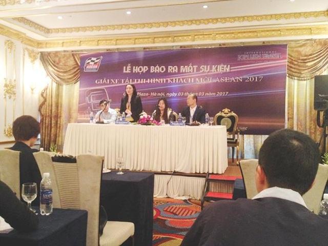 Lễ họp báo ra mắt sự kiện giải xe tải trọng tải lớn