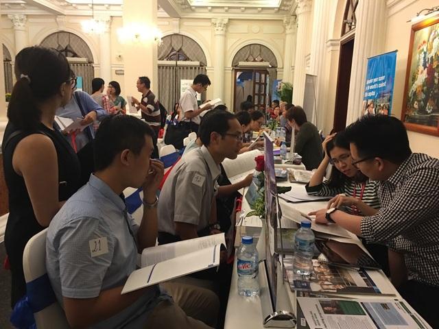 Ngày hội du học New Zealand do Cty Đức Anh tổ chức vào tháng 9/2016