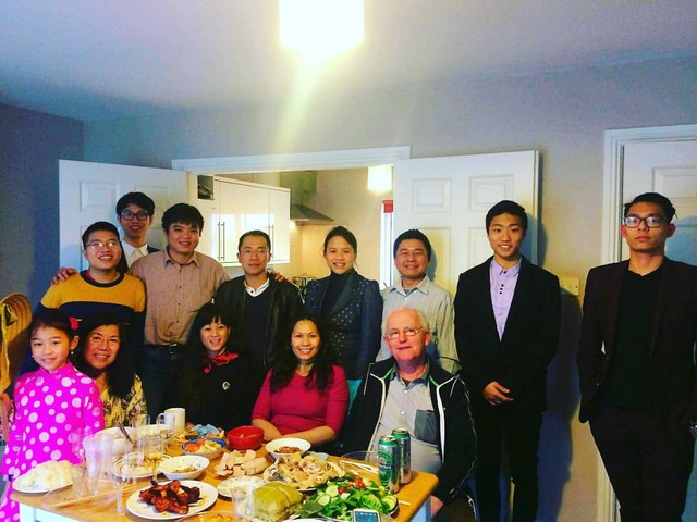 Nhóm sinh viên Việt Nam tại Ireland tổ chức bữa cơm thân mật nhân dịp Tết Âm lịch 2017