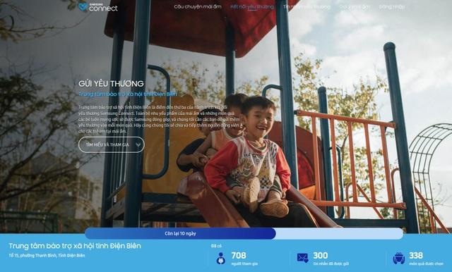 Dự án Samsung mang đến sự lan tỏa yêu thương trong cộng đồng với hơn 700 người tham gia cho mái ấm Điện Biên