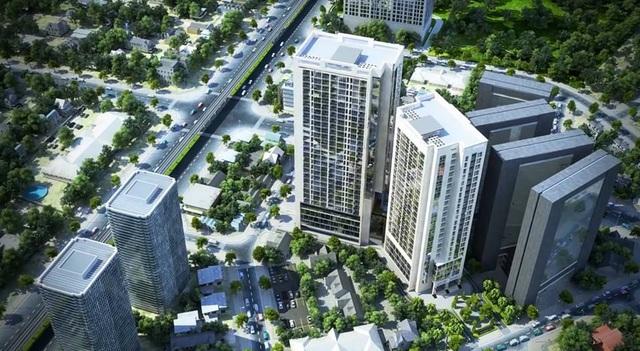 Bidhomes The Garden Hill nằm tại vị trí đặc địa bậc nhất về giao thông, sẽ được giới thiệu nhà mẫu và mở bán với khách hàng trong tháng 4.2017