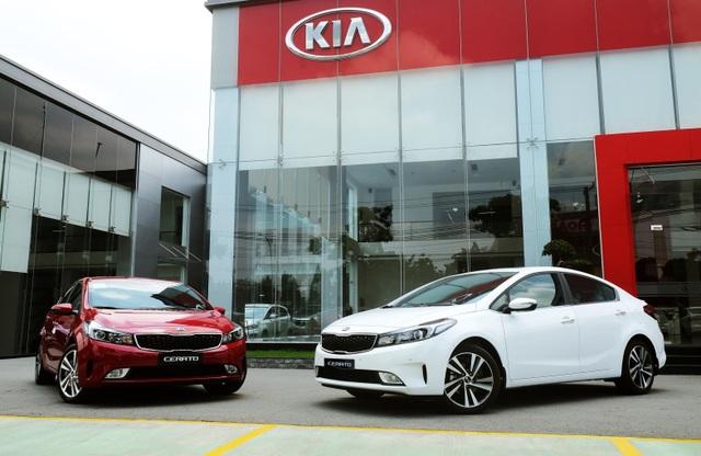 Kia Cerato nằm trong top 5 xe hạng C bán chạy nhất Việt Nam tháng 3/2017