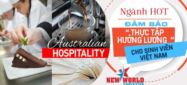 Du học Úc - Nhà hàng khách sạn đảm bảo thực tập hưởng lương 2017 - 1