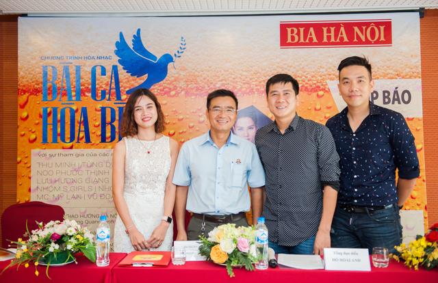 Cuộc họp báo chương trình Bài ca Hòa Bình đã được tổ chức vào ngày 20/4 vừa qua