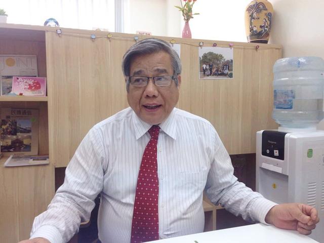 GS.TSKH Vũ Minh Giang. (Ảnh: Lệ Thu)