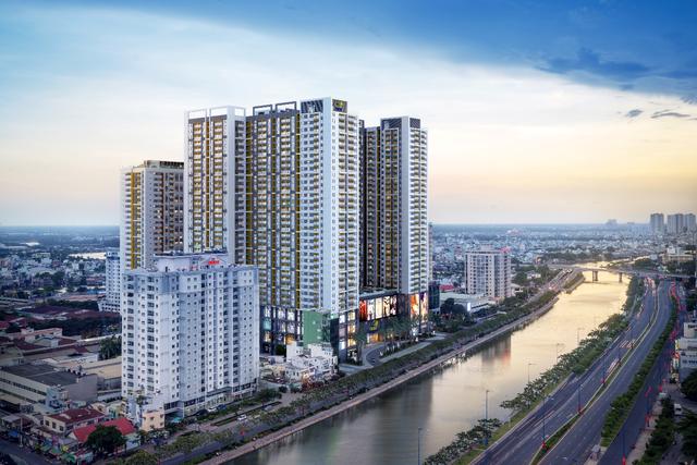 """The GoldView đã đạt Giải thưởng """"Dự án căn hộ cao cấp tiêu biểu tại Việt Nam"""" của hệ thống giải thưởng danh giá IPA 2017, là minh chứng cho giá trị của dự án và những nỗ lực của TNR."""
