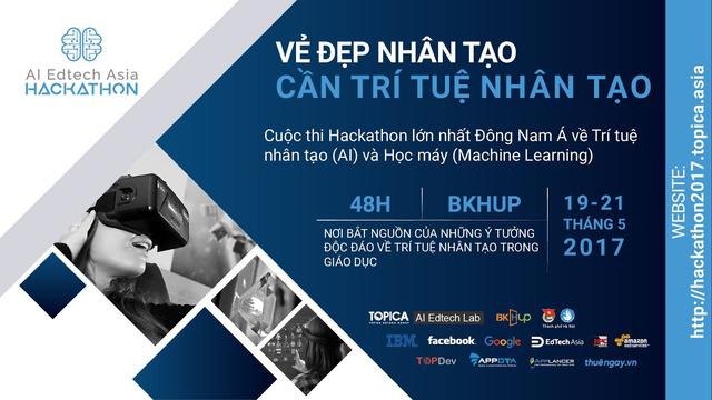 """Các """"ông lớn"""" Facebook, Google, IBM, Amazon (AWS)... tài trợ 300.000 USD cho cuộc thi Hackathon tại Việt Nam - 1"""