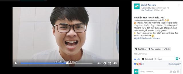 """Tun Phạm """"gây sốt"""" với clip bộc lộ cảm xúc ĐỈNH - 1"""