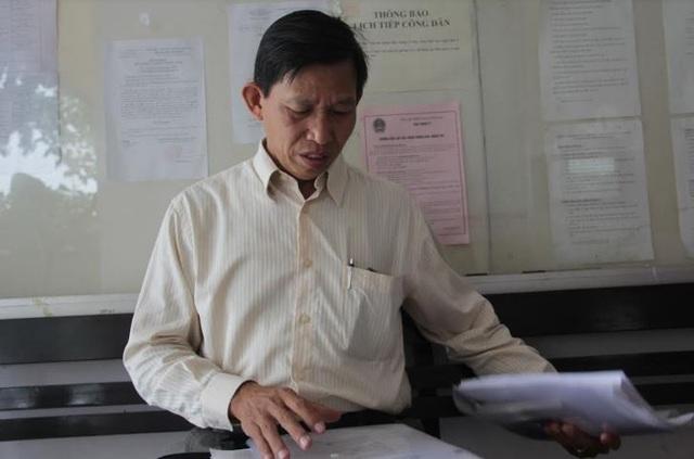 Ông Nguyễn Xuân Phú yêu cầu Viện KSND TP Biên Hòa bồi thường hơn 1,7 tỷ đồng.