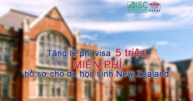 Tặng lệ phí visa 5 triệu, miễn phí hồ sơ cho du học sinh New Zealand - 1
