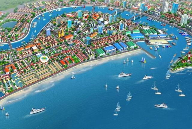 Vietpearl City tọa lạc ngay trung tâm thành phố Phan Thiết, yếu tố giúp giá trị bất động sản tăng mạnh theo thời gian.