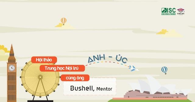 Hội thảo Trung học nội trú Anh - Úc cùng ông Bushell, Mentor - 1