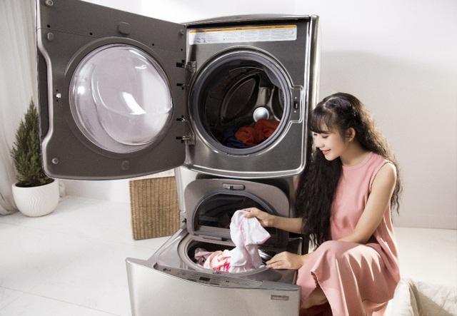 Mẹo giặt giũ bảo vệ sức khỏe cho con của mẹ đảm Minh Hà - 1