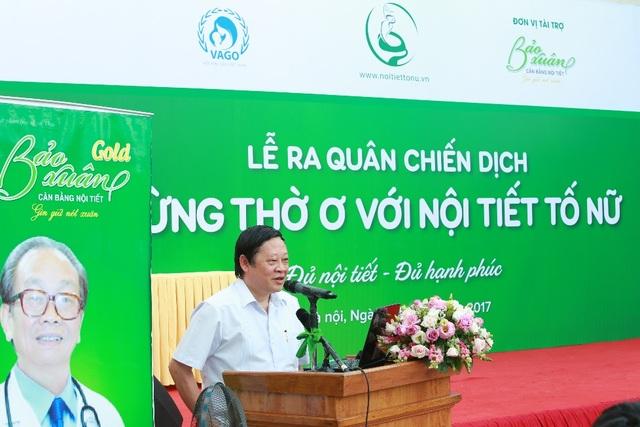 GS Nguyễn Viết Tiến, Thứ trưởng Bộ Y tế, Chủ tịch Hội Phụ sản Việt Nam