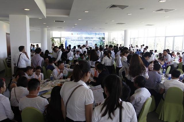Hàng trăm nhà đầu tư BĐS đổ dồn sự chú ý đến dự án Ngọc Dương Riverside.