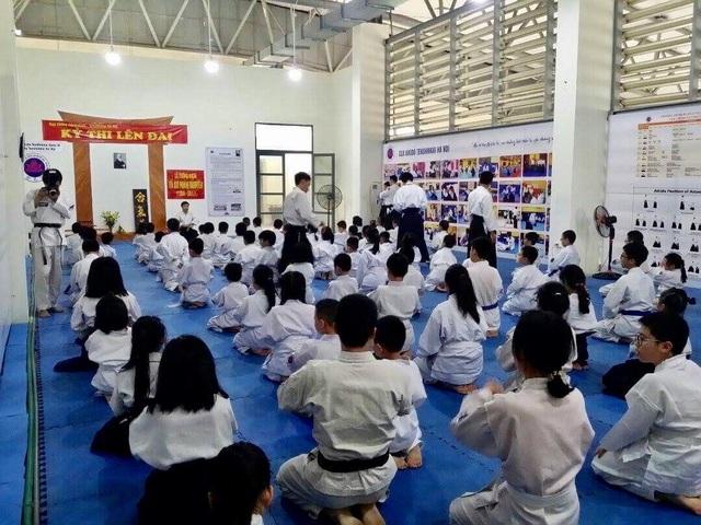 Học võ đạo mang nhiều lợi ích cho trẻ cả về thể chất lẫn nhân cách