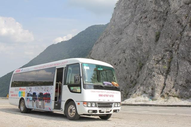Chiếc xe FUSO ROSA mang đậm chất Nhật xuất hiện trên khắp nẻo đường cả nước