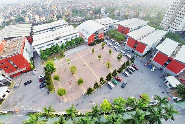 Khuôn viên Trường Song ngữ Quốc tế Hanoi Academy.