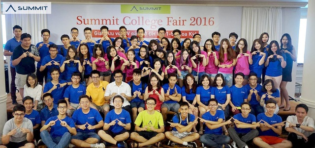 Triển lãm các trường Đại học Mỹ - Summit College Fair 2017 - 1