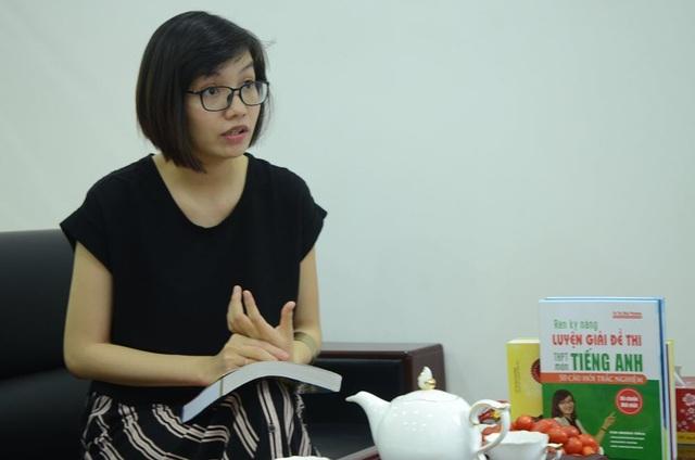 """Cô giáo TOEIC Mai Phương chia sẻ về cái """"duyên"""" đến với nghề giảng dạy tiếng Anh và luyện thi TOEIC"""