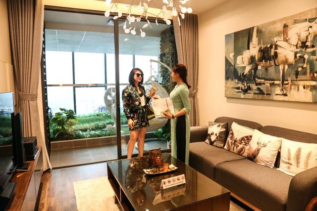 Thiết kế căn hộ mang tính hiện đại và hài hòa với thiên nhiên, tràn ngập ánh sáng của căn hộ GoldSeason.