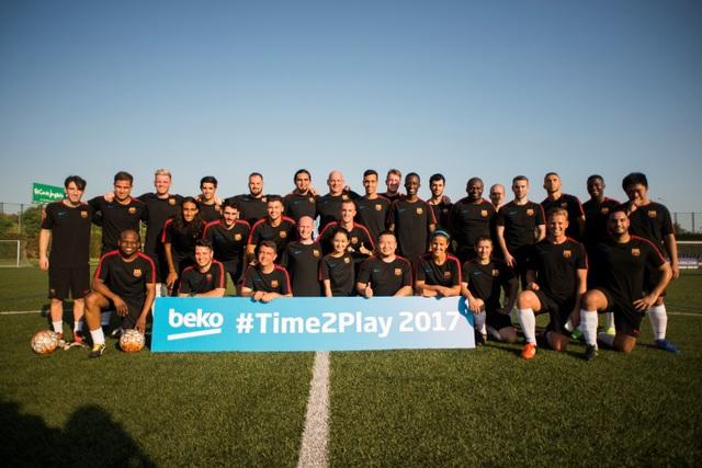 """Time2Play trao cơ hội cho người hâm mộ tới thi đấu tại """"thủ phủ"""" Camp Nou của Barca"""