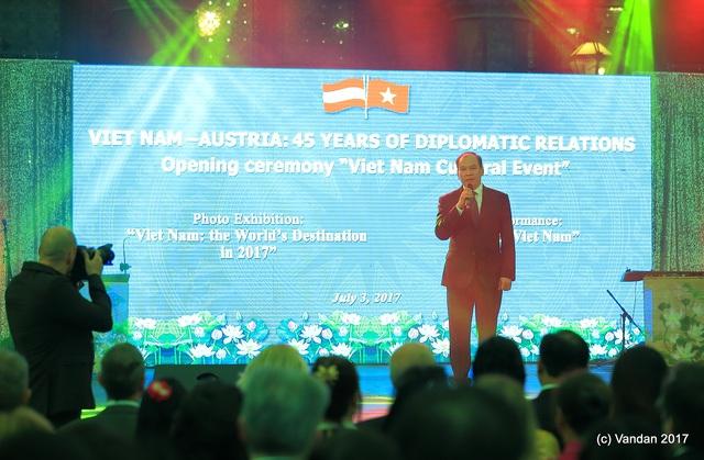 Ông Vũ Việt Anh, Đại sứ đặc mệnh toàn quyền của Việt Nam tại Cộng hòa Áo.
