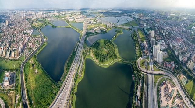 Phía Nam Hà Nội thuận lợi trong kiến tạo cảnh quan xanh - 1