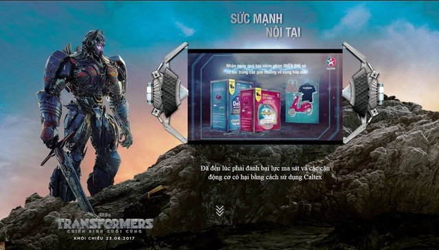 """Đánh thức sức mạnh nội tại động cơ cùng """"Transformer: The Last Knight"""" (Chiến binh cuối cùng)"""