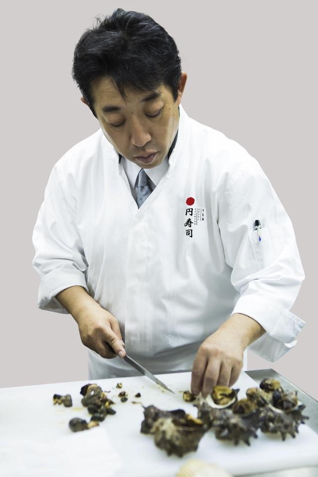 Đầu bếp Masanobu Inaba – bậc thầy về các món truyền thống với hơn 40 năm kinh nghiệm