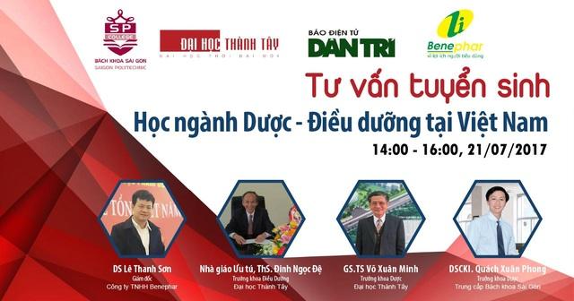 Chiều nay, tư vấn hướng nghiệp về học ngành Dược - Điều dưỡng tại Việt Nam - 1