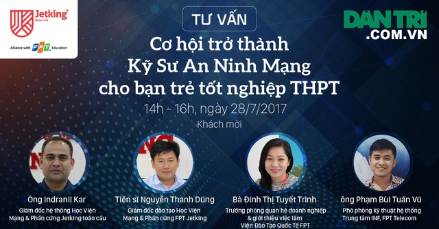Tư vấn: Cơ hội trở thành Kỹ sư An ninh Mạng cho bạn trẻ tốt nghiệp THPT - 1