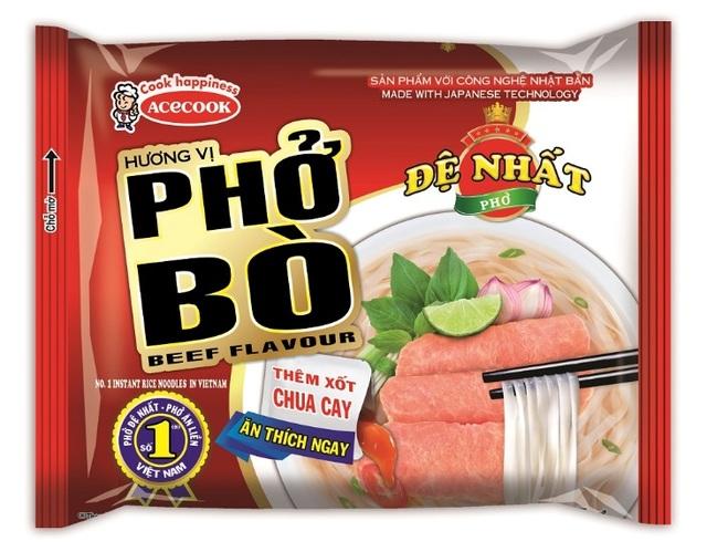 Acecook Việt Nam ra mắt hai sản phẩm Phở chất lượng mới và thay đổi bao bì Hảo Hảo Mì Xào - 1