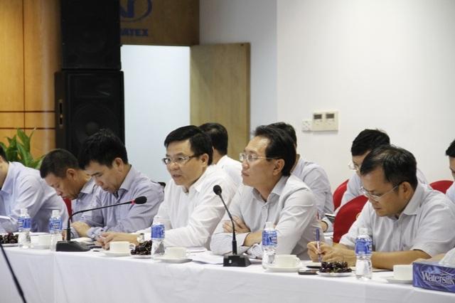 Lãnh đạo PVN tham gia hội đàm cùng Vinatex