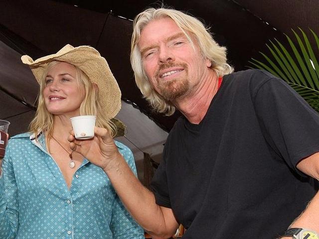 Tỷ phú Richard Branson uống 20 tách trà mỗi ngày. (Nguồn: Virgin)