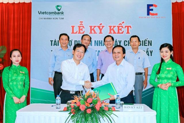 Vietcombank tài trợ 177 tỷ đồng cho dự án của Fococev ở địa bàn Tây Nguyên - 1