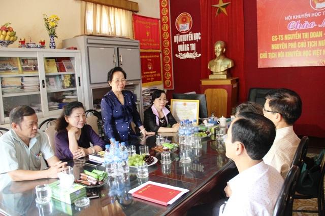 Chủ tịch Hội Khuyến học Việt Nam đánh giá Hội Khuyến học Quảng Trị đã có những cách làm sáng tạo