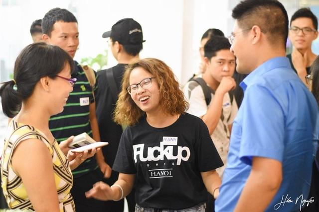 Nữ du học Hà Linh (giữa) là người khởi nguồn ý tưởng mang F.U.N về Việt Nam.