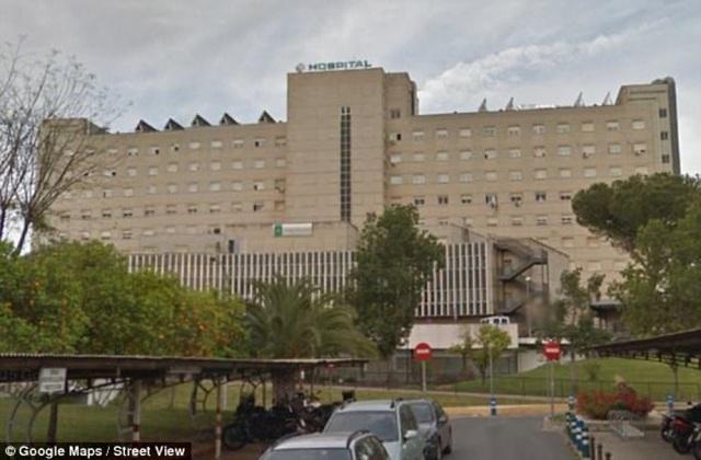 Bệnh viện nơi xảy ra tai nạn kinh hoàng.
