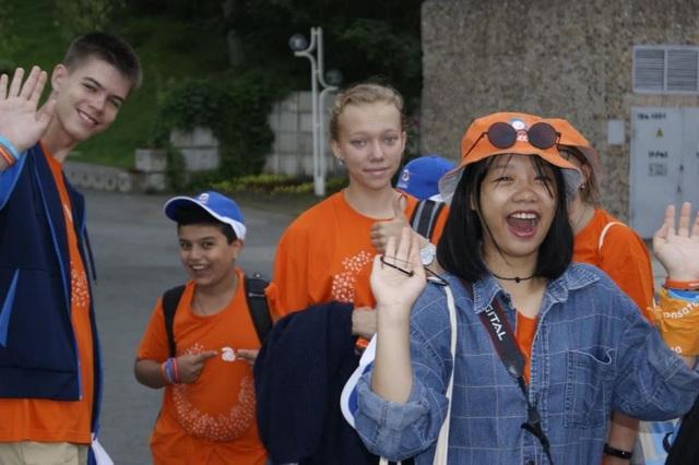 Bạn trẻ Việt Nam hòa mình vào trại hè thiếu nhi Quốc tế của Rosatom