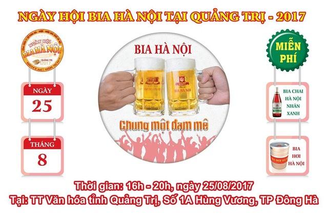 Bia Hà Nội tri ân người dân Quảng Trị - 1