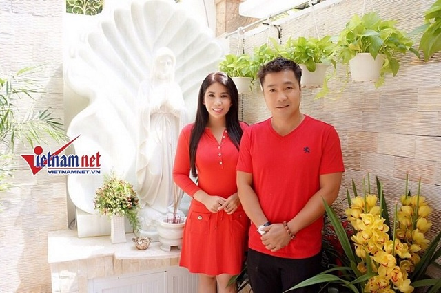 Lý Hương và anh trai - Diễn viên Lý Hùng.