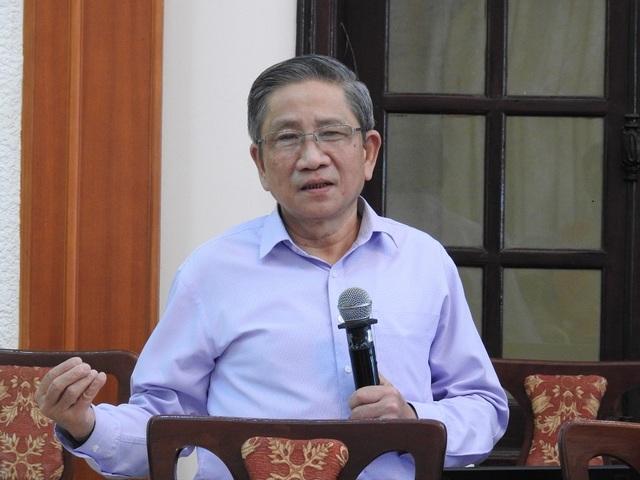 GS Nguyễn Minh Thuyết (Tổng chủ biên Chương trình GDPT tổng thể).