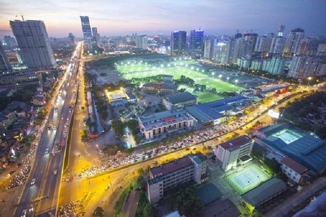 Diện mạo mới ở tuyến đường quận Thanh Xuân