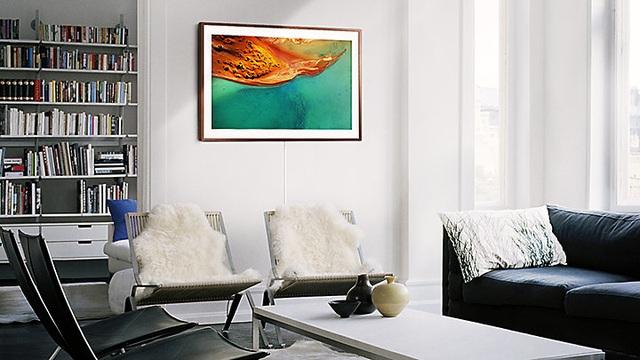 Một chiếc TV được thiết kế như một khung tranh đã hoàn toàn thay đổi khái niệm về một chiếc TV hiện đại