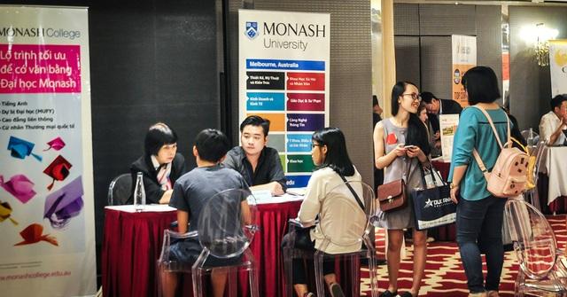 Đại học Monash tham dự Triển lãm du học Đức Anh