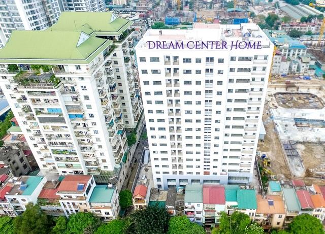 """Một góc """"view"""" đẹp về dự án Dream Center Home"""